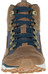 Merrell All Out Crusher Mid Schoenen Heren bruin/blauw